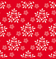 new year and cristmas seamless pattern with vector image vector image