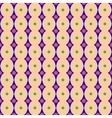 Rhombus and polka dot geometric seamless pattern vector image