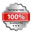Satisfaction guarantee label vector image vector image