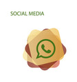 Telephone icon whatsapp logo symbol phone