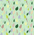 A seamless pattern with leafautumn leaf vector image