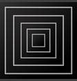 abstract background of black squares with shadow vector image vector image