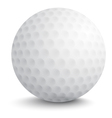 Ball for golf vector image vector image