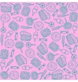 Colorful backdrop with sweets vector image vector image