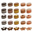 cookies collection vector image