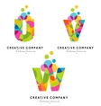 Creative Alphabet Letters vector image vector image