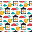 pattern dedicated to the chinese folk festival vector image vector image
