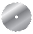 saw blade vector image vector image