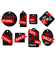 set of sale labels and tags vector image