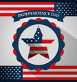 american independence day vector image vector image
