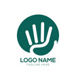 community logo design and icon vector image