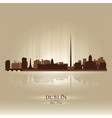 Dublin ireland skyline city silhouette vector | Price: 1 Credit (USD $1)