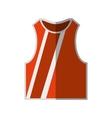shirt boxing uniform icon vector image vector image
