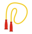 Skipping rope icon flat style vector image vector image