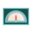 speedometer device icon vector image