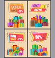 super price -20 best offer vector image vector image