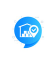 warehouse logistics and distribution icon vector image vector image