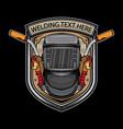 arc welding logo vector image