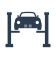 car service icon on white background vector image