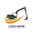 construction logo and icon design vector image