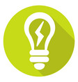 idea or mind icon of set material design style vector image vector image