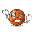 successful volleyball character cartoon style vector image vector image