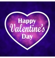 Valentine s Day Heart for design greetings vector image vector image