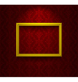 Empty frame vector image