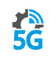 Technology icon network sign 5g