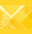 Abstract yellow squares pattern background and