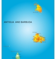 Antigua and Barbuda vector image
