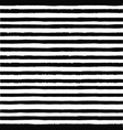 black striped pattern seamless hand drawn print vector image vector image