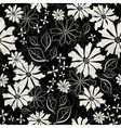 effortless floral pattern vector image