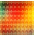 Geometric vintage background vector image vector image