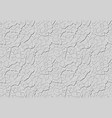 grey decorative plaster is similar to clay with vector image vector image