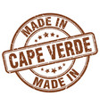 made in cape verde vector image vector image