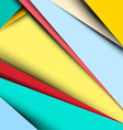 Material Design Retro Background - Pattern vector image vector image