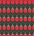 seamless background pattern with ladybug vector image vector image