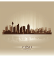 Sydney australia skyline city silhouette vector | Price: 1 Credit (USD $1)