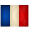 Vintage France Flag vector image vector image