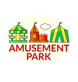 Amusement park icons