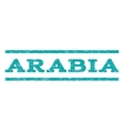 Arabia Watermark Stamp vector image vector image