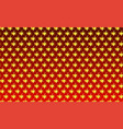 beautiful pattern thai style on red background vector image vector image