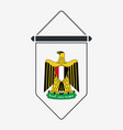 egypt coat arms sign and icon vertical vector image vector image