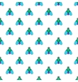 Fly pattern cartoon style vector image vector image