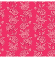 pink flowers 4 380 vector image vector image