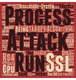 RSA Attack Efficiency Improves text background vector image vector image