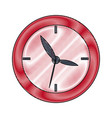 school clock date hour time icon vector image vector image