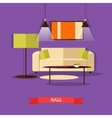 set of posters banners with home interior vector image vector image
