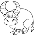 Zodiac taurus or bull coloring page